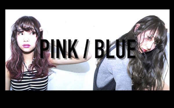 【bluefacesのHP】今回はPINK×BLUEになりました。
