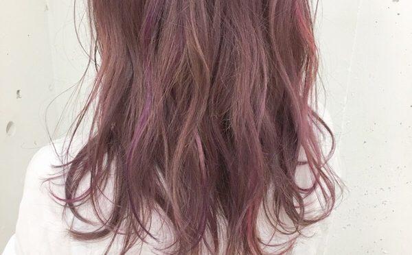 【人気のカラースタイル】ピンクとカラートリートメントのハイライト