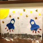 【時間って進んでるんだな】息子が絵を描きました。